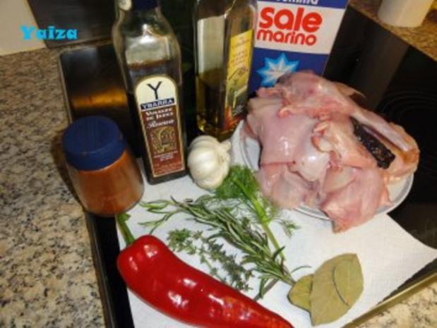 Conejo en Salmorejo - Rezept - Bild Nr. 2