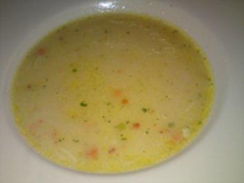 Rezept: Gebrannte Grießsuppe