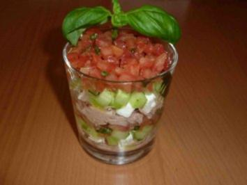 Tomaten-Gurken Tatar - Rezept