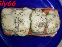 Toast:Mit Krakauer und Gemüse - Rezept