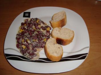 Kidneybohnen-Mais Salat - Rezept