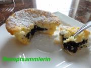 Muffin:   KÄSEKUCHENMUFFIN mit Mohnkern - Rezept