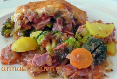 Brokkoli-Kartoffel- Auflauf - Rezept