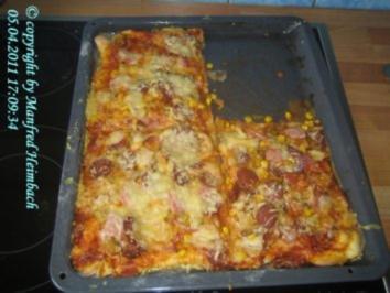 Rezept: Pizza - Pizza per il mio Ingrid – Pizza für Ingrid