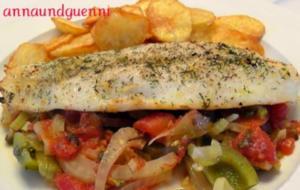 Pangasius-Fischfilet mit Zitronen-Dill-Marinade - Rezept