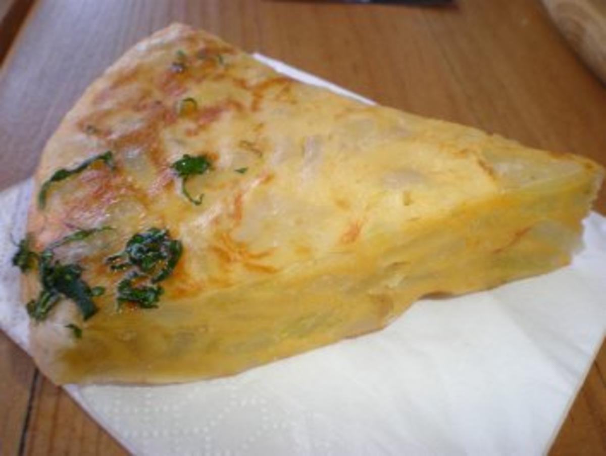 Spanisches Omelett - Rezept mit Bild - kochbar.de