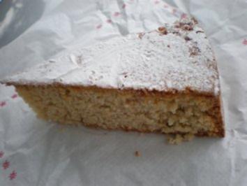Mandelkuchen Santiago - Rezept