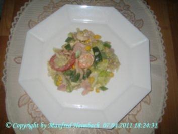 Salate – Insalata mista a'la Manfred – Gemischter Salat - Rezept