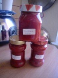 Erdbeer-Minz Marmelade - Rezept