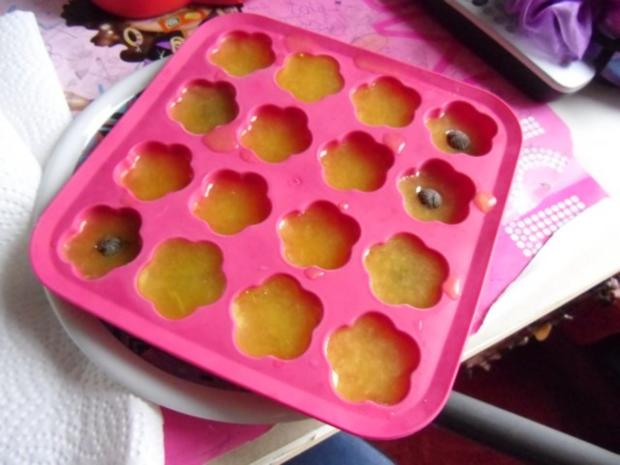 Fruchtige Eiswürfel - Rezept