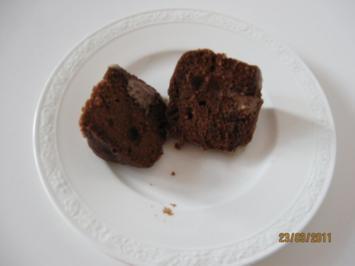 Überraschungs - Schoko - Törtchen - Rezept