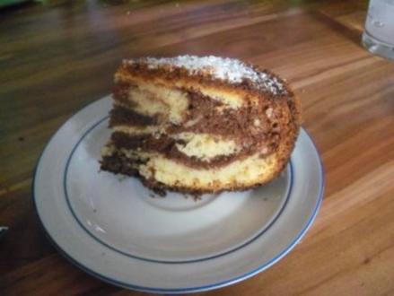 Kuchen - Marmorkuchen mal etwas anders - Rezept