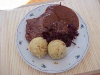 Sauerbraten von OMMA - Rezept