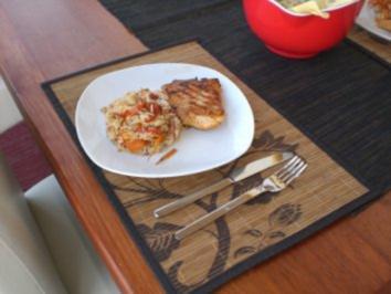 Michi's Gemüse-Reis-Pfanne - Rezept