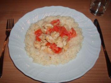 Tomaten-Hähnchen - Rezept