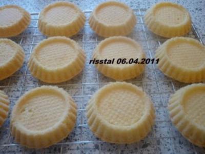 Bisquit - Torteletts - Rezept