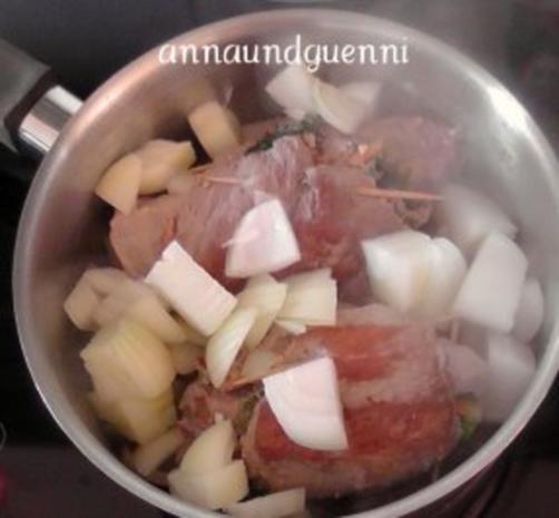 gefüllte Schweinefilets - Rezept - Bild Nr. 7