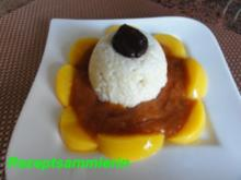 Dessert:   VANILLE - MILCHREIS - Rezept