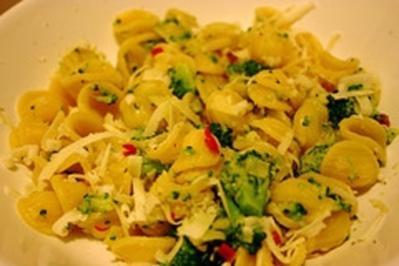 Orecchiette mit Brokkoli - Rezept