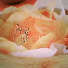 Kartoffelchips mit Paprika - Rezept