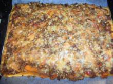 Meine Blätterteig-Pizza - Rezept