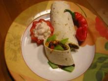 Tortillas mit Füllung - Rezept