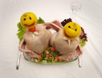 Hühnchen a´la blamage - Rezept