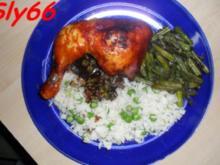 Geflügel:Hähnchenkeulen Pikant Mariniert - Rezept