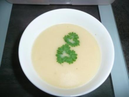 Spargelcreme-Suppe mit Pfiff - Rezept