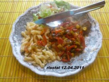 Koteletts mit pikanter Soße - Rezept