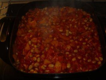 Pfannengerichte: Kartoffeln-Bohnen und Speck - Rezept