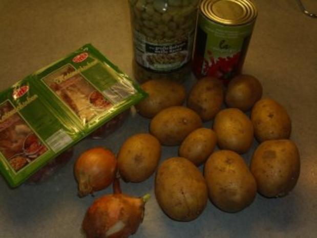 Pfannengerichte: Kartoffeln-Bohnen und Speck - Rezept - Bild Nr. 2