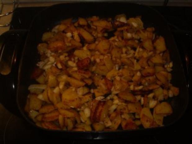 Pfannengerichte: Kartoffeln-Bohnen und Speck - Rezept - Bild Nr. 3
