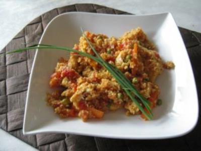 Pangasius-Couscous - Rezept
