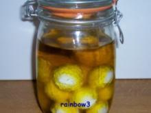 Brotaufstrich: Labna ... arabische Frischkäsebällchen in Öl - Rezept