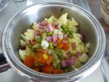 Resteverwertung : ... Fixe Kartoffelsuppe - Rezept
