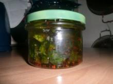 Bärlauch-Pfeffer Öl - Rezept