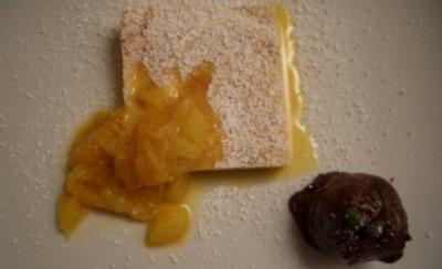 Tatos Lieblingskuchen Ricottakuchen Mit Orangenragout Und