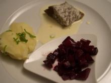 Tafelspitz an Fenchel-Sellerieschnee dazu Rote Bete - Rezept