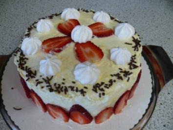 Erdbeer-Prosecco-Eierlikör-Zwerg - Rezept