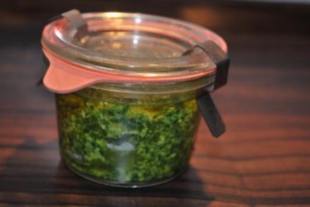 Rucola-Pesto - Rezept