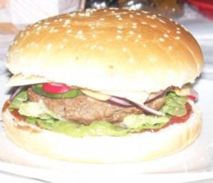 Burger mit Radieschen - Rezept