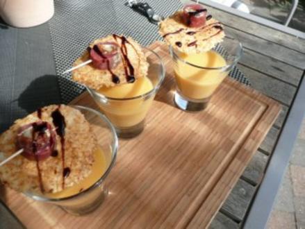 GLASFOOD 18 Karotten-Ingwer-Suppe - Rezept