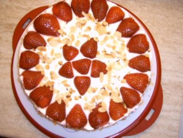 Erdbeer - Quark - Torte - Rezept - Bild Nr. 2