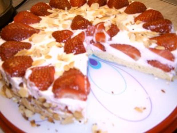 Erdbeer - Quark - Torte - Rezept - Bild Nr. 3