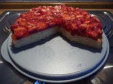 Kuchen - Mein erster Erdbeerkuchen 2011 - Rezept