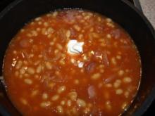Bohnensuppe pikant - Rezept
