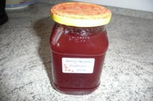 Marmelade: Honigmelonen - Erdbeergelee - Rezept