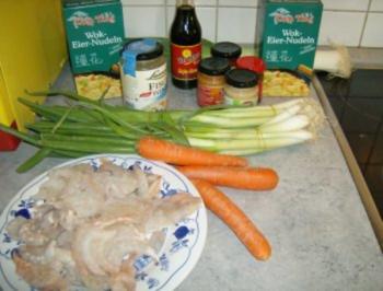 Chinapfännchen mit Shrimps - Rezept