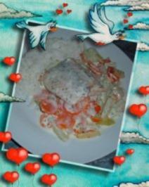 Fisch : Lachs mit Gemüse - Rezept